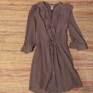 3 gray dresses